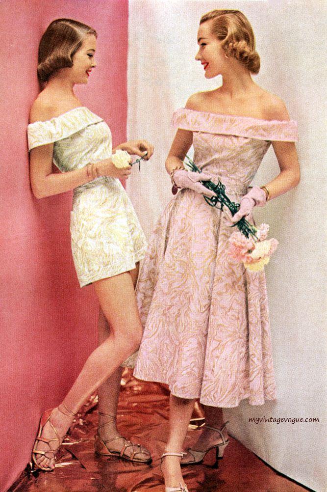Fashion in the 1950s | Vintage | Pinterest | Ropa vintage, De 1950 y ...