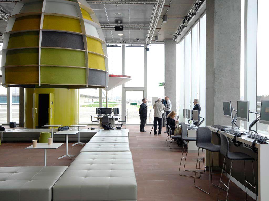 BBC Scotland Headquarters at Pacific Quay, Glasgow Interiors work Pinterest - Office Interior Design Glasgow — McKellar Office