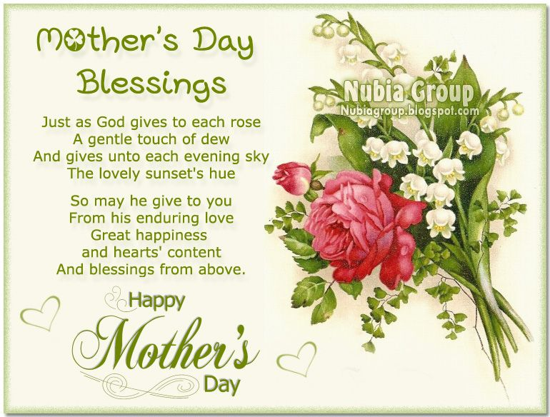 Mother's Day Blessing | Mother's Day Pinnings | Pinterest ...