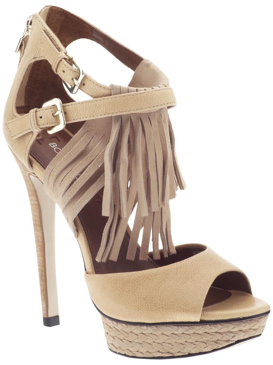 671afa90877 Boutique 9  fringe high heels... so perfect for summer!!