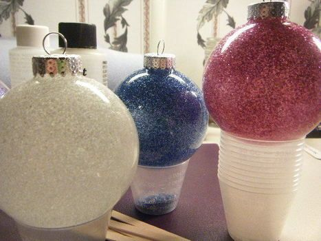 Resin Coated Christmas Ornaments