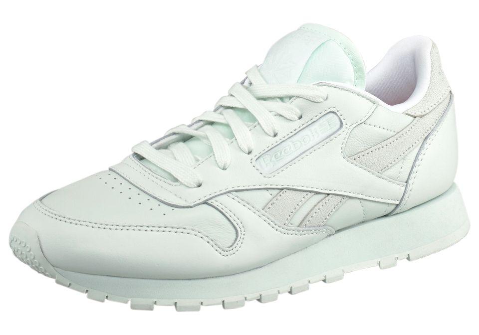 Wunderschöner Mint-Grüner Sneaker von Reebok @ABOUT YOU http://dein.aboutyou.de/p/reebok-classic/reebok-cl-lthr-spirit-sneaker-2104297