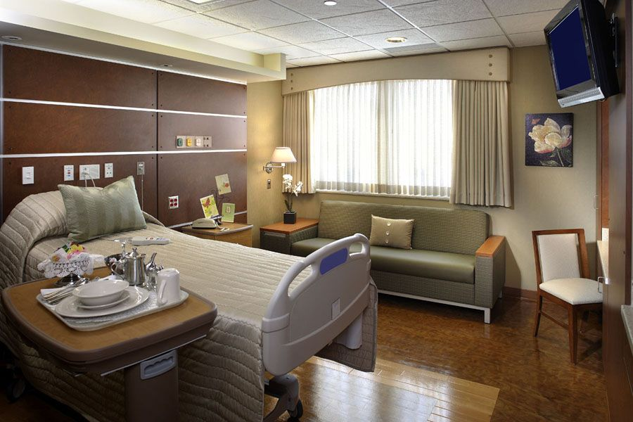 This Hospital Room Relates To The Room Gerald Was Put In