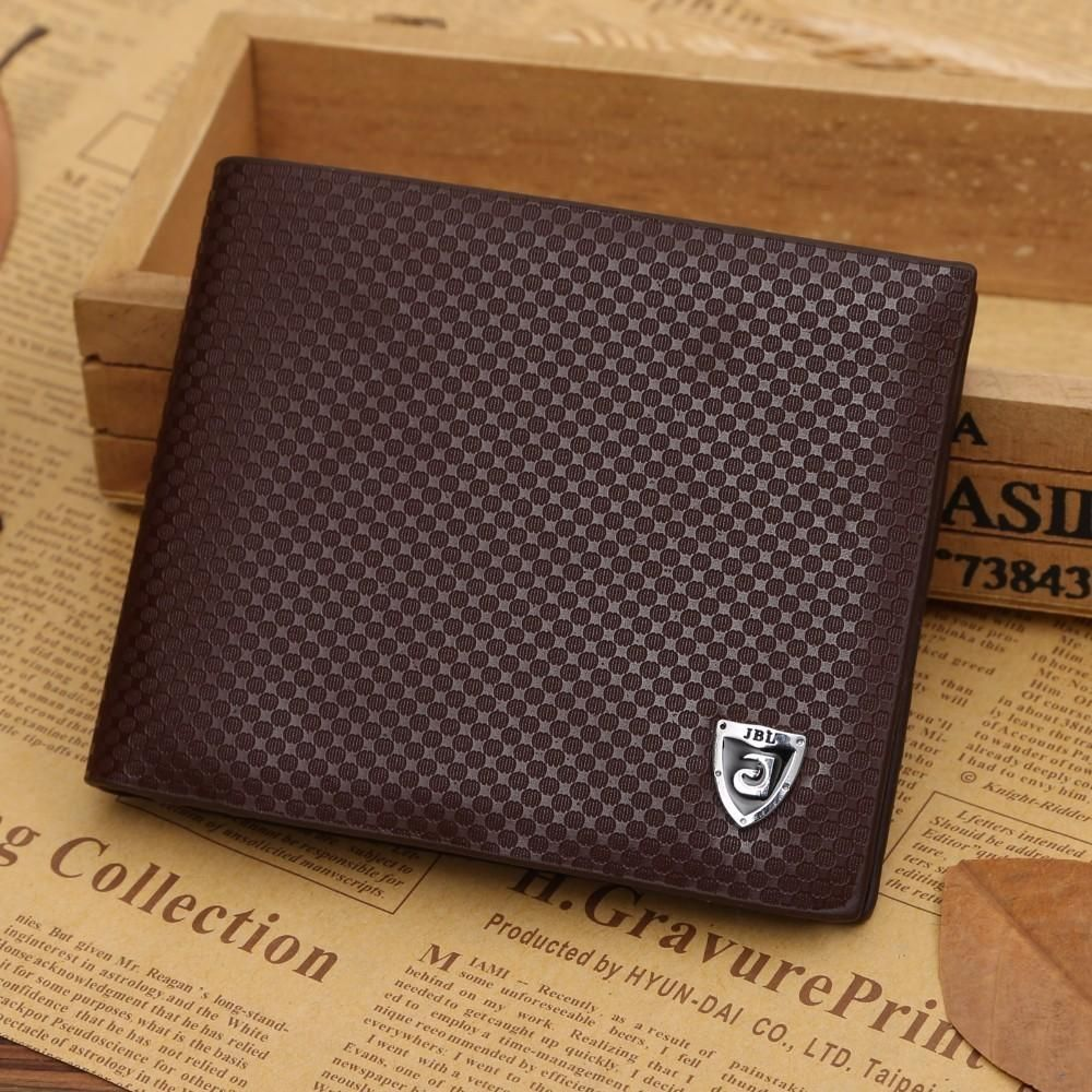 QUALITY Magnetic Snap Luxury Men Soft Leather Wallet Credit Card Holder Purse