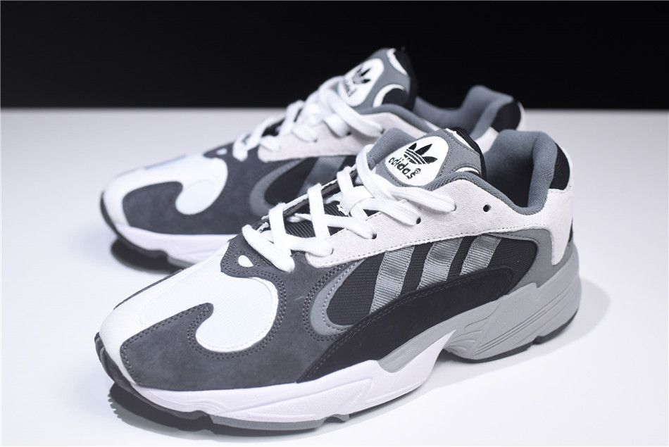 New adidas Originals YUNG 1 GreyWhite Black Dad Shoes