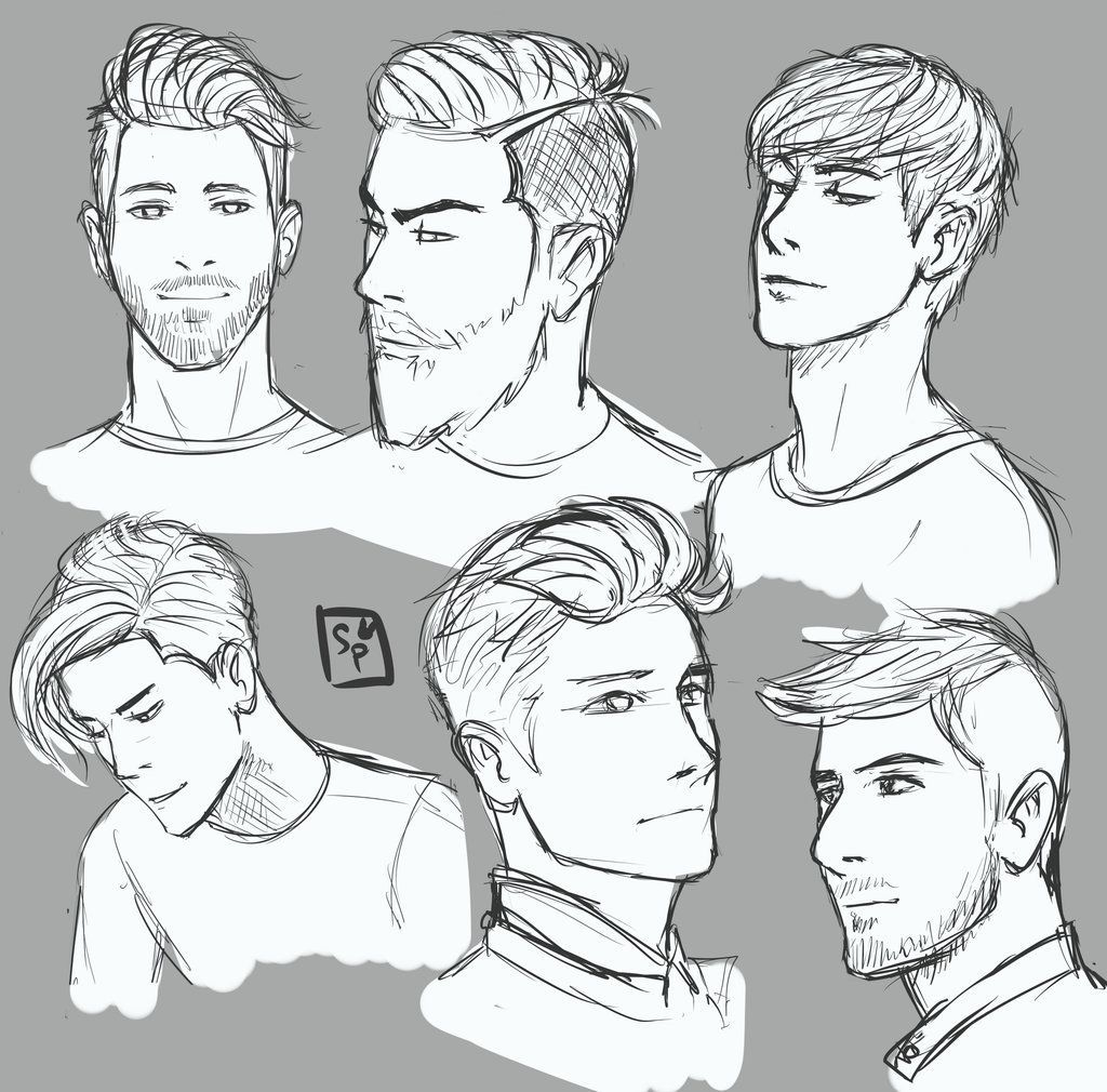 Drawing Hairstyles For Your Characters With Images Guy Drawing