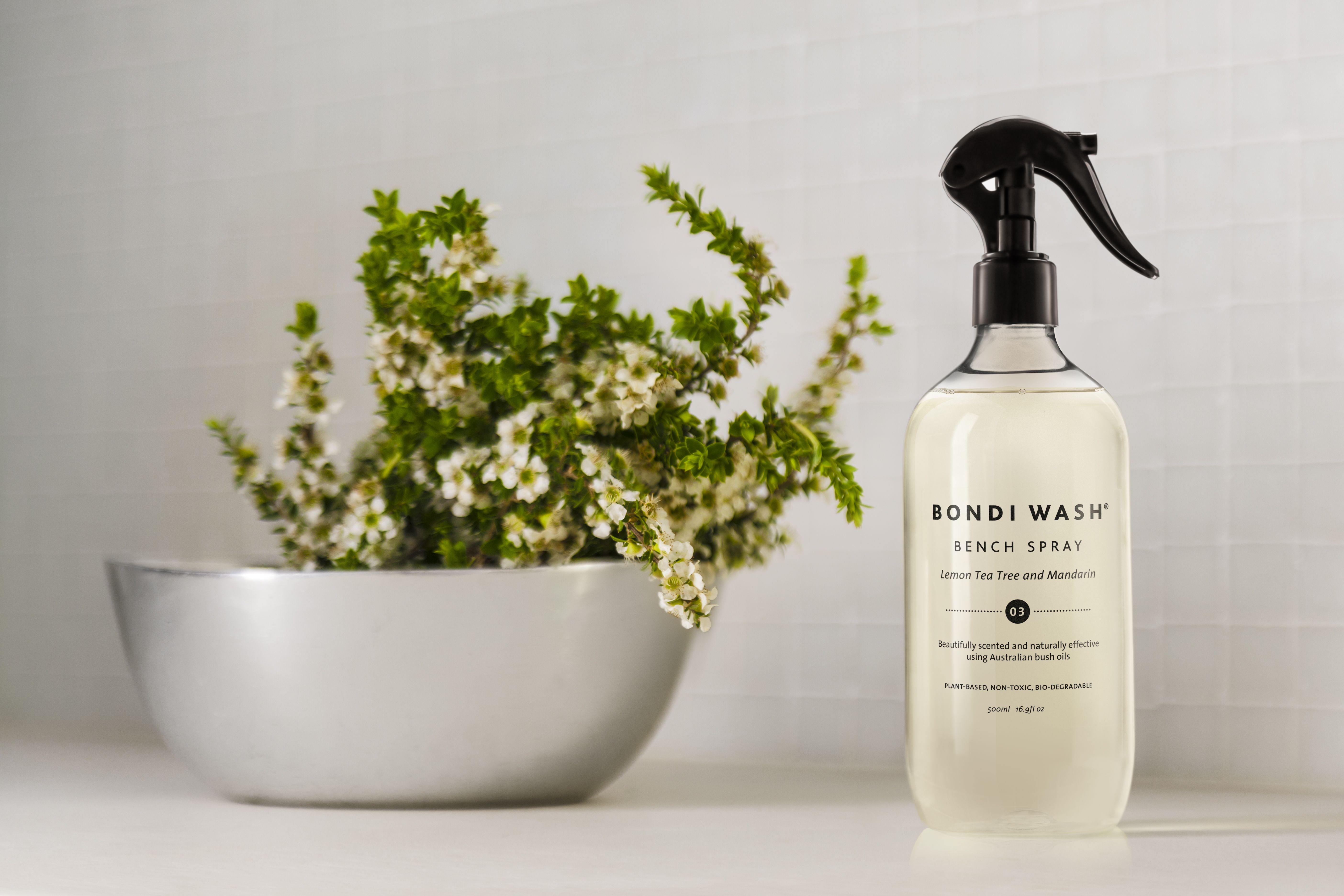 Bench spray natural cleaning products natural