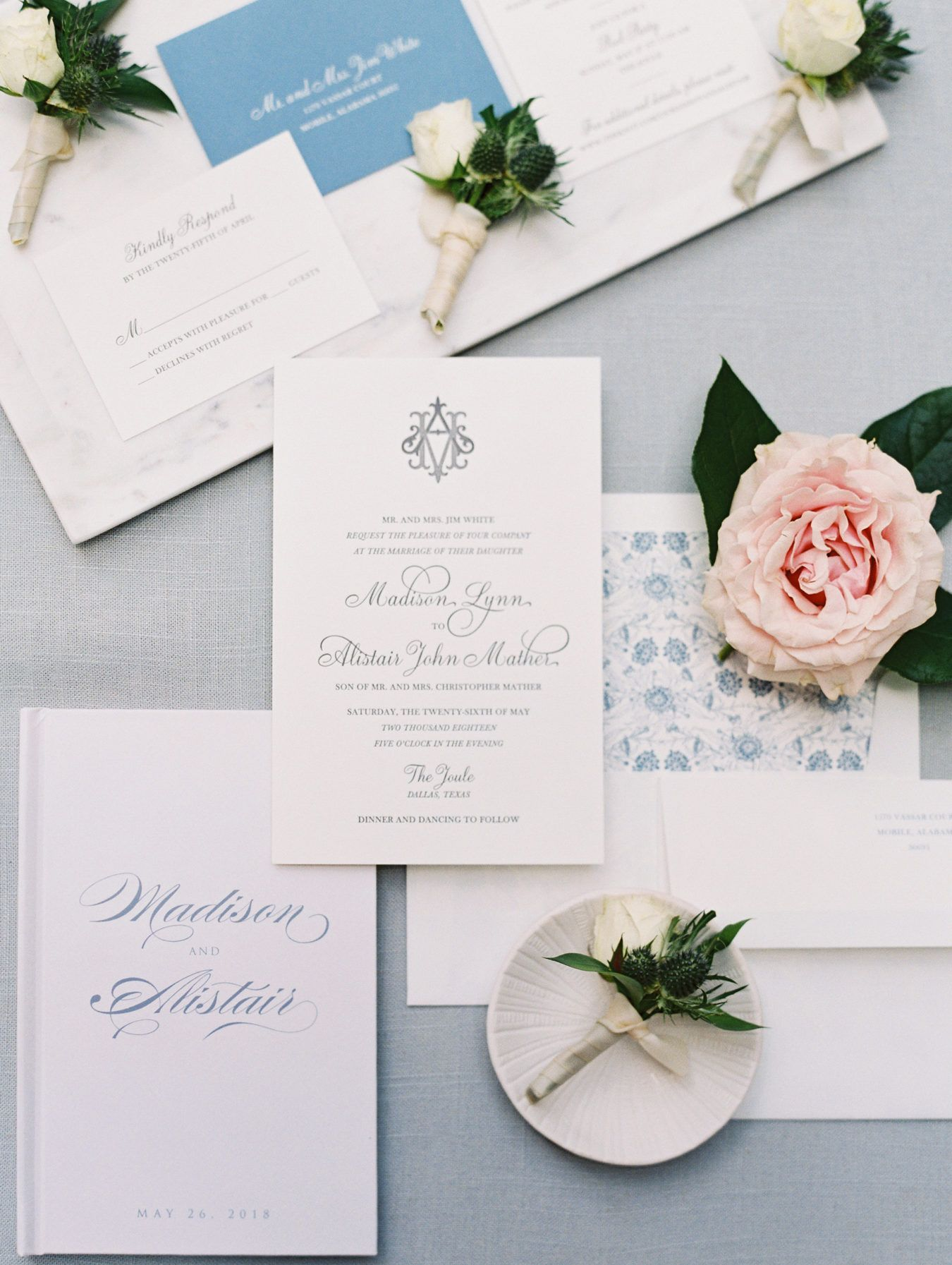 Modern Meets Whimsical Wedding In Dallas With Scottish Vibes Ruffled Whimsical Wedding Wedding Invitation Paper Wedding Invitations