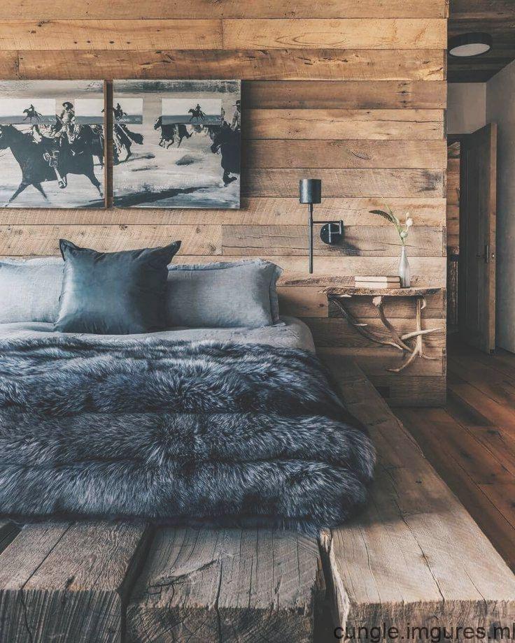 Cest Un Monde Dhommes Deco Chambre Cocooning Chambre A Coucher