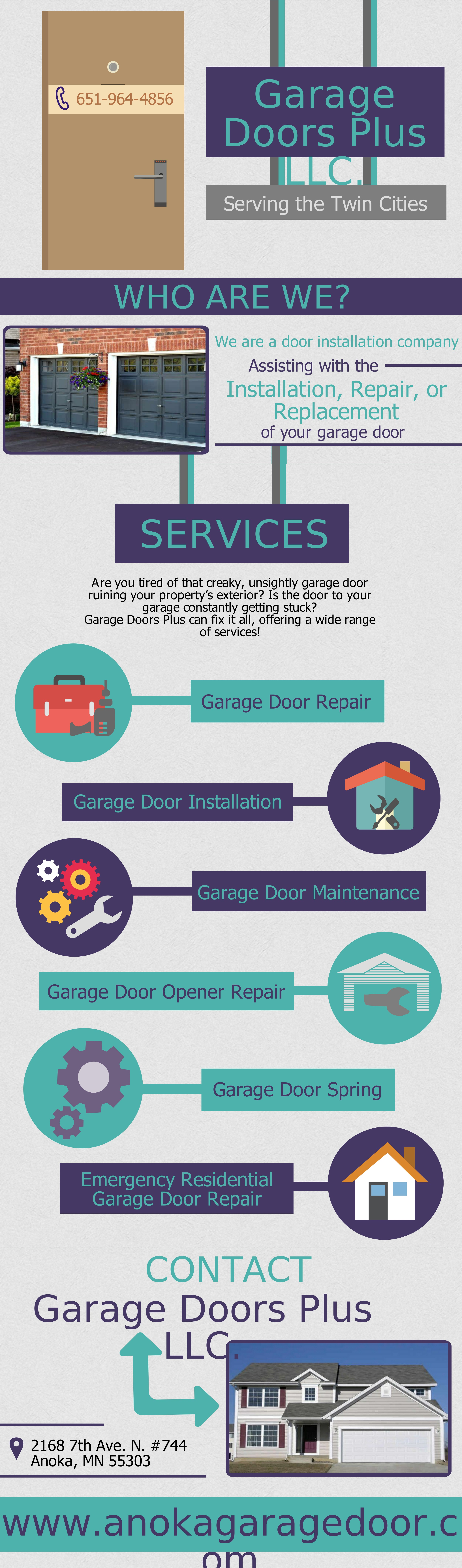 We At Anoka Offer You Emergency Garage Door Opener Repair And