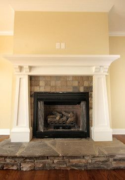 Craftsman Style Fireplaces Design Ideas, Pictures, Remodel, and Decor - page 3 #craftsmanstylehomes