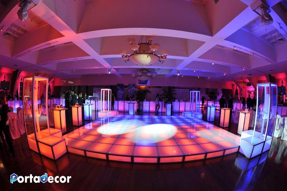 Boogie down on this illuminated dance floor by Porta Decor