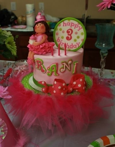 Raniya's 3rd birthday cake By KC Cakes on CakeCentral.com