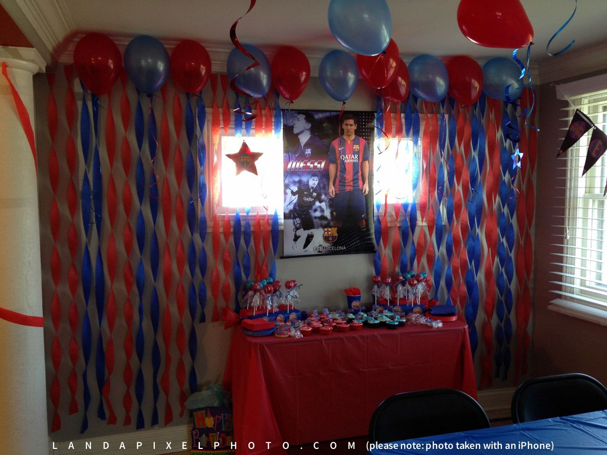 FC Barcelona Themed Birthday Party - Landapixel Photography  af2cab8b5ab