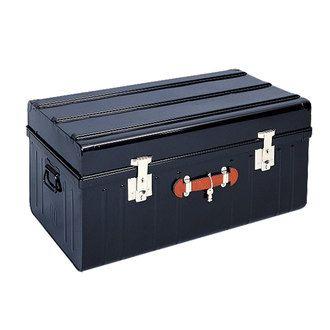Malle De Rangement Metal Poignee Cuir Noir Safe Pierre Henry Malle De Rangement Rangement Metal Rangement