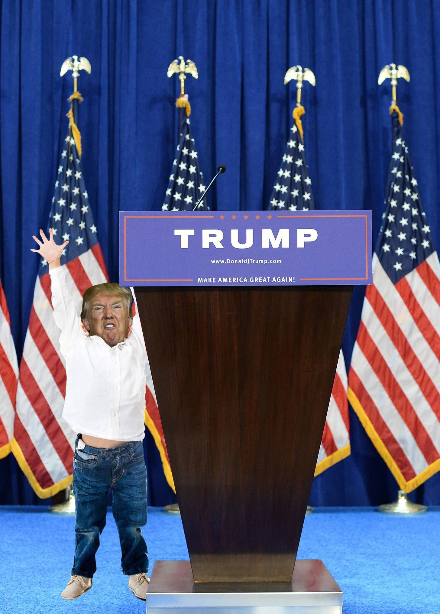 Can Somebody Help The Big Boy To His Podium