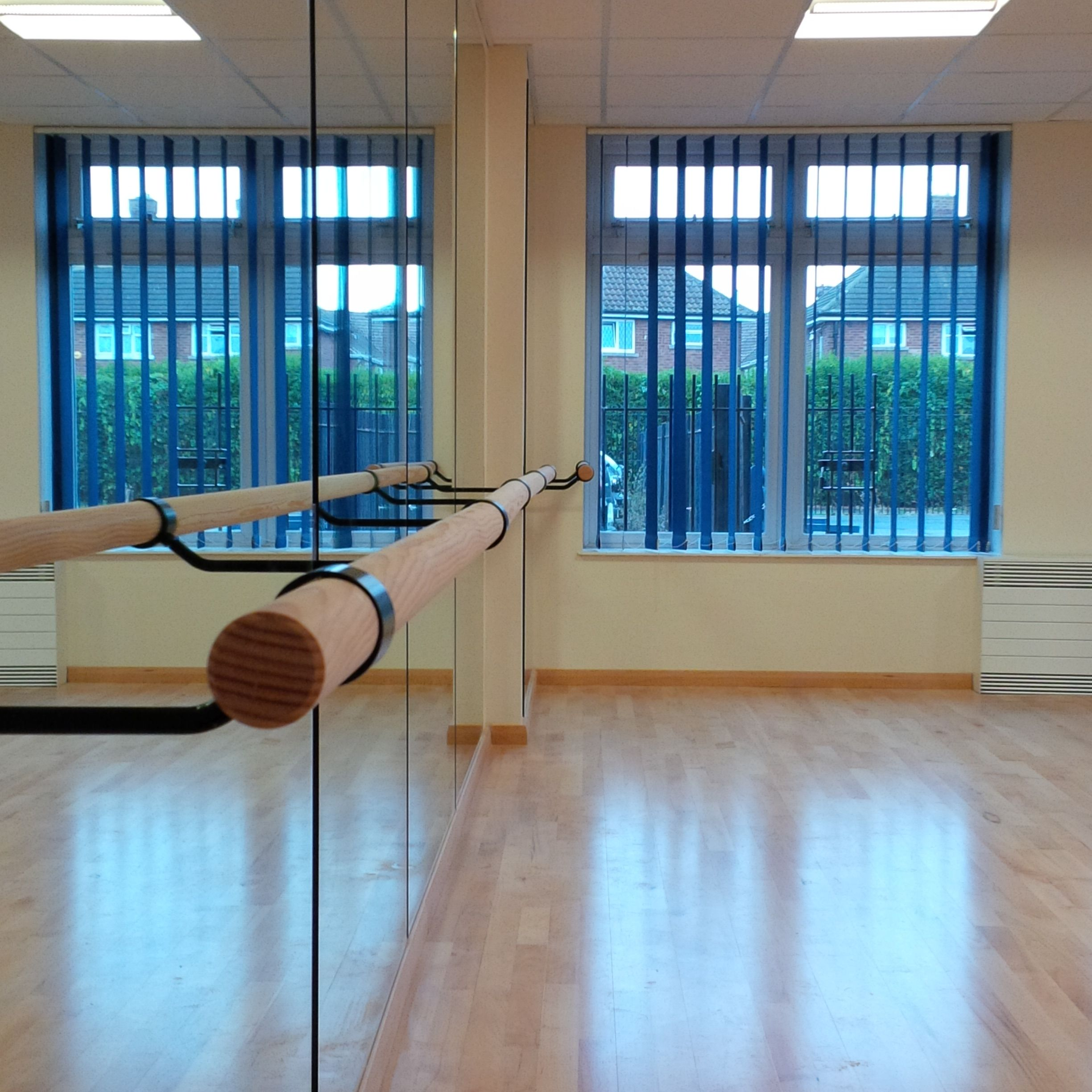 Single Ballet Barre Amp Studio Mirrors Installed At