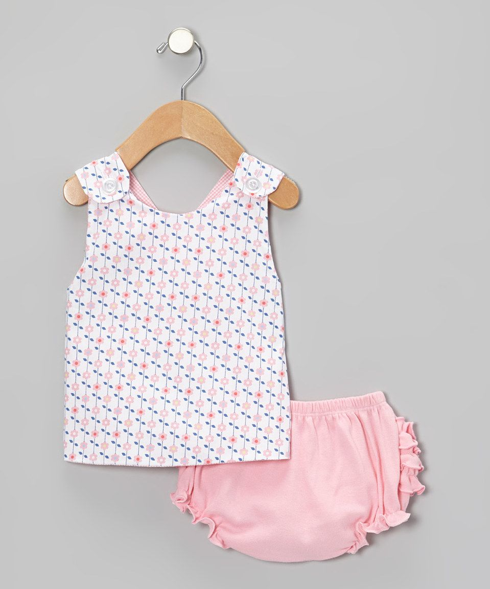 Blue & Pink Reversible Jumper & Diaper Cover