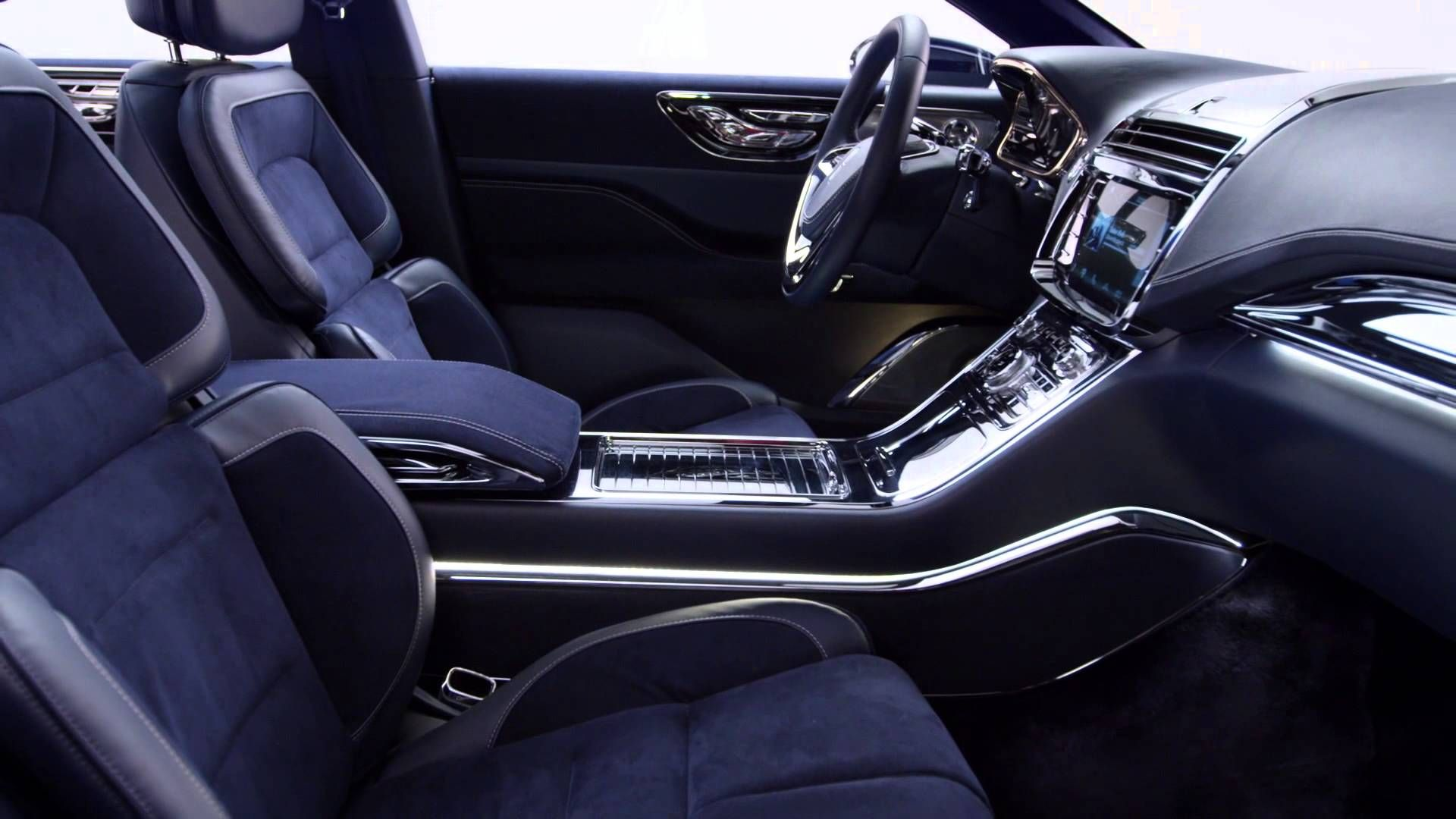 Fiounder S Court Luxe 2015 Lincoln Continental Concept Interior