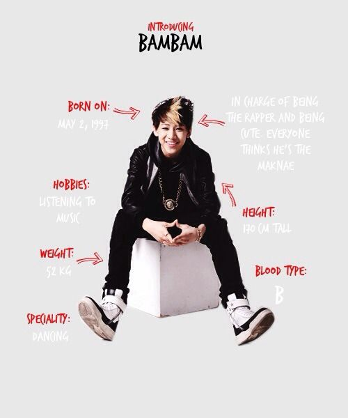 Got7 Bambam Profile | Places to Visit | Oppas, Proyectos