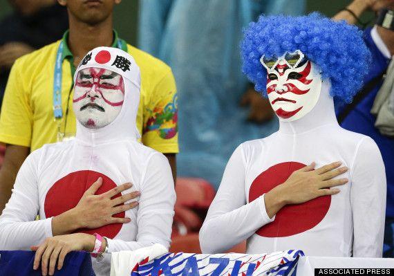world cup japan fans