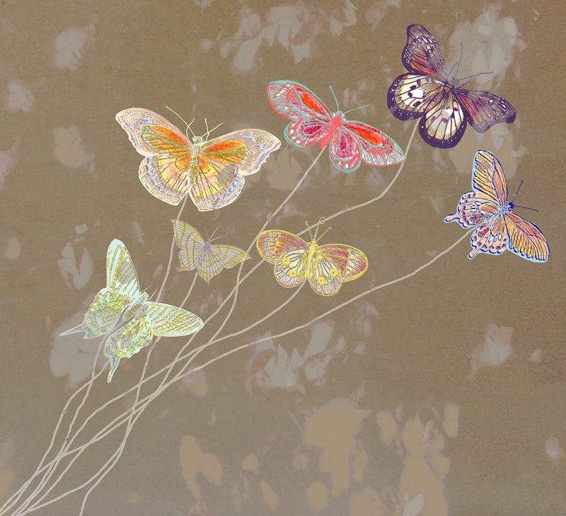 """Durevole, resistente all'acqua ed ai graffi fotomurale di fliselina """"giardino delle farfalle"""" Pin On Idee E Progetti"""