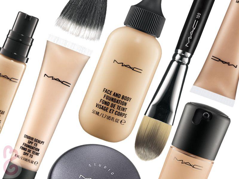 Ingredientes De Las Bases De Mac Con Imágenes Bases Para Piel Grasa Como Maquillarme Maquillaje