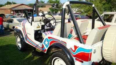 Super Jeep Champagne Willys Jeep Jeep Cj Cool Jeeps