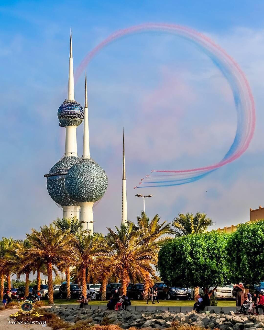 Kuwait Towers Is One Of Kuwait S Most Famous Landmarks أبراج الكويت ابراج الكويت Kuwait City Kuwait Kuwaitcity Middleeast Arabi Kuwait City Kuwait City