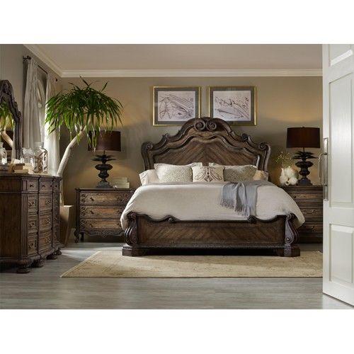 Hooker Furniture Rhapsody King Bedroom Group | Baer\'s ...