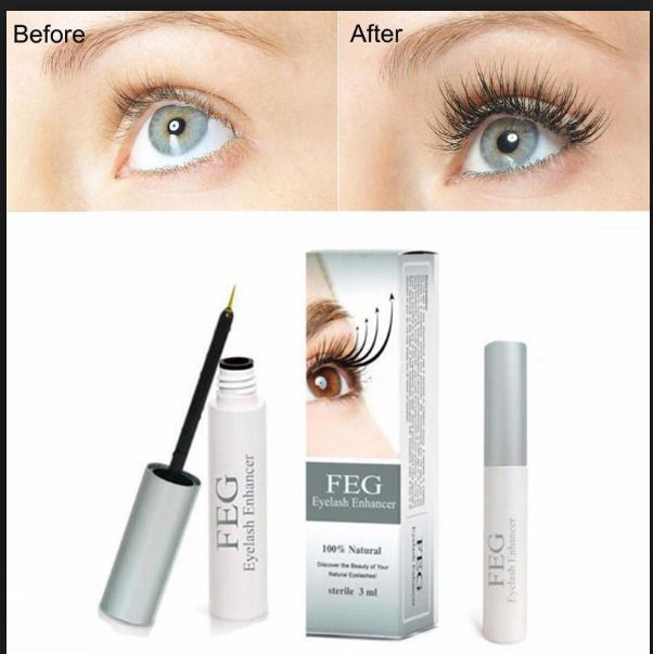 63318139ee1 FEG Eyelash Growth Treatments Chinese Herbal Powerful Makeup Liquid Serum  Enhanc New Brand FEG Eyelash Growth