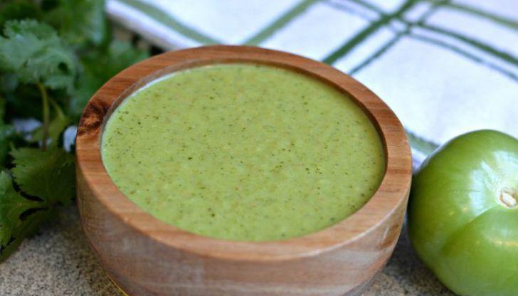 Authentic Mexican Salsa Verde #authenticmexicansalsa
