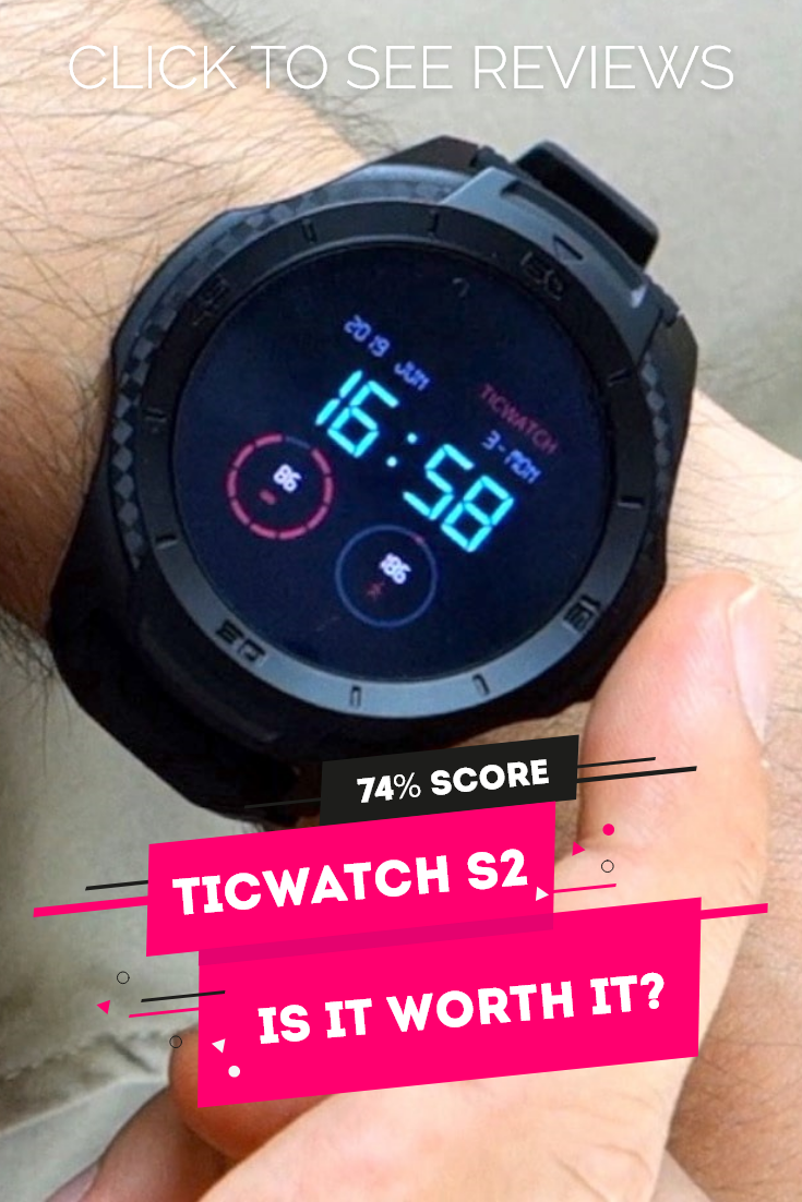 The TicWatch S2 is one of the best value smartwatch out there. It's a great fitness gadget, travel g...