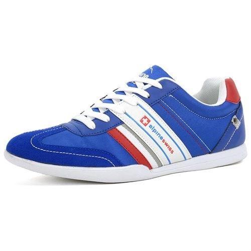 AlpineSwiss Ivan Mens Tennis Shoes Fashion Sneakers Retro Classic Tennies Casual