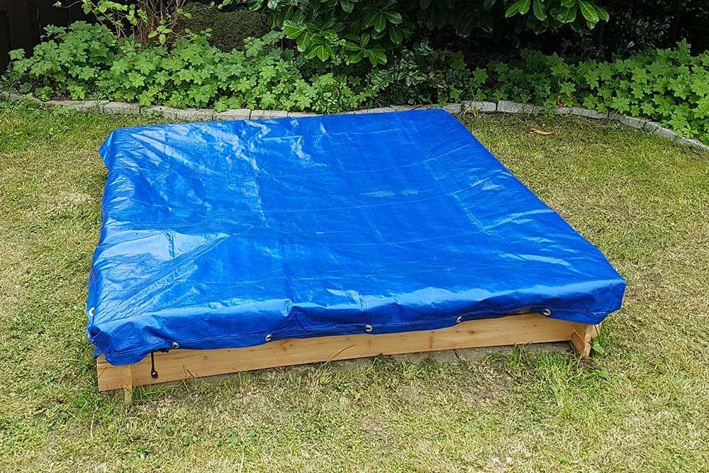 Sandkastenplane Plane Mit Elastischer Kordel Als Abdeckung Fur Sandkasten 180 X 180 Cm Sandkasten Sandkasten Garten Garten Kaufen