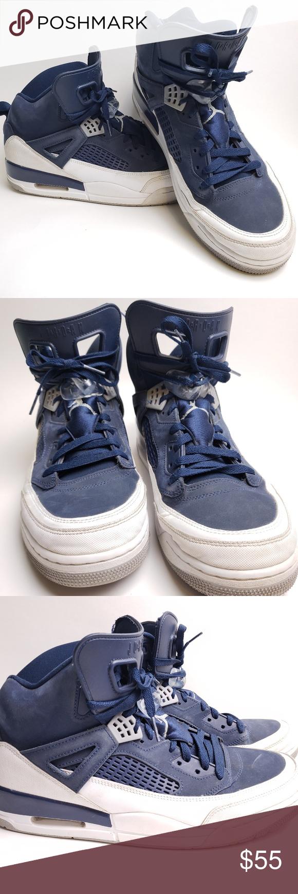 buy popular a4221 68fd0 Nike Jordan Spizike Midnight Navy 315371-406 Men s Size 13, UK 12, EUR