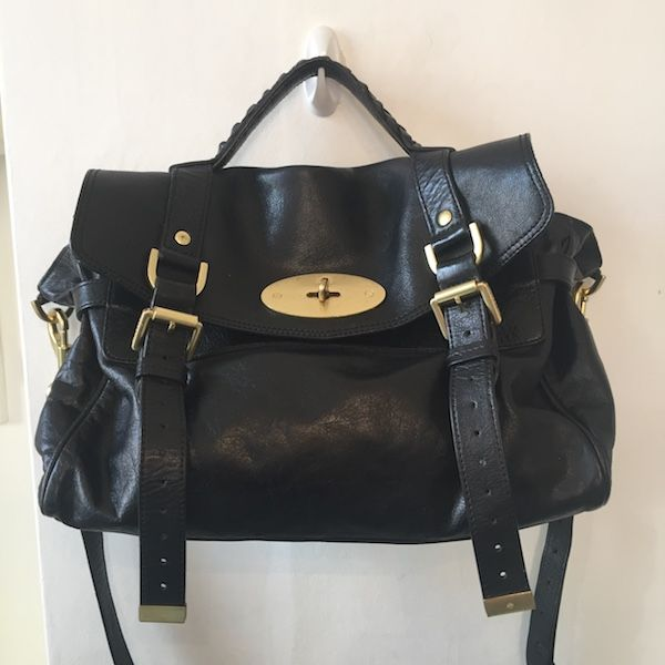 Mulberry Alexa in Black Leather £400