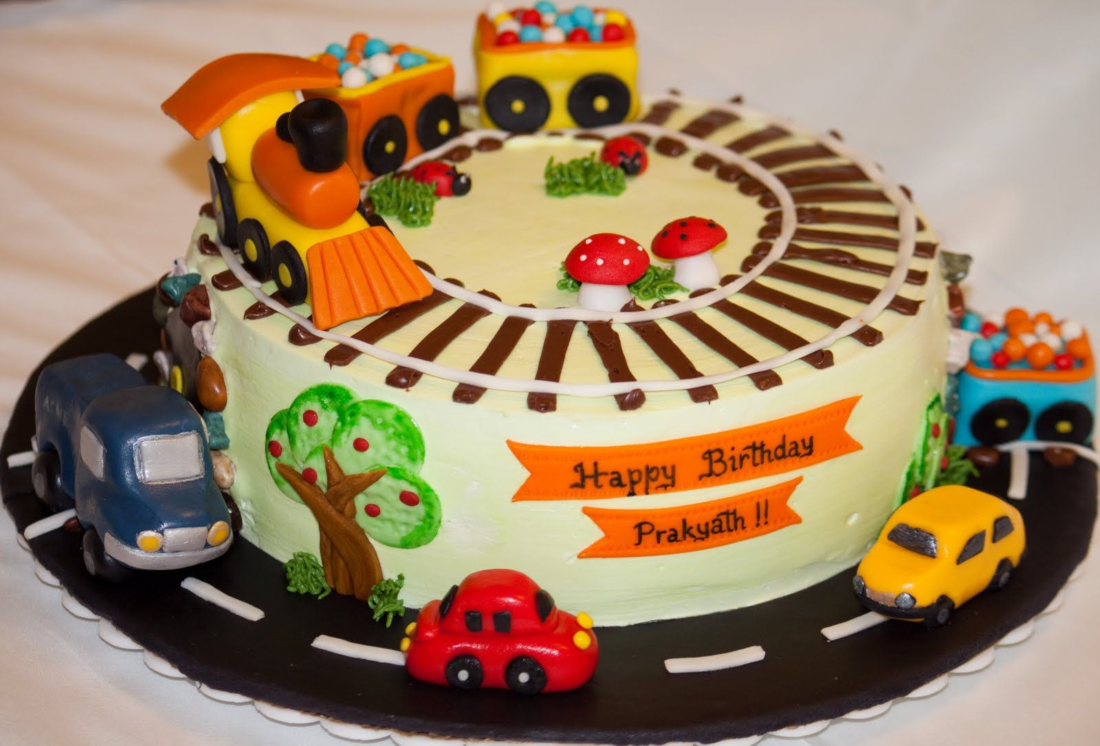 Birthday Cakes Images With Name And Photo ~ Vehicle cake vehicle birthday cakes and birthdays