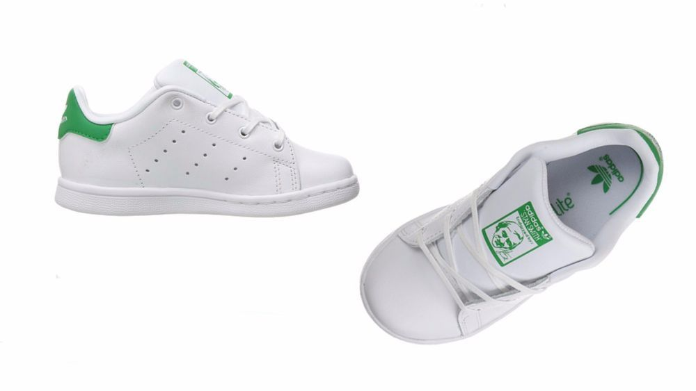 Infant toddlers (TD) ADIDAS STAN SMITH White Green BB2998  adidas  BB2998 22ae596b1