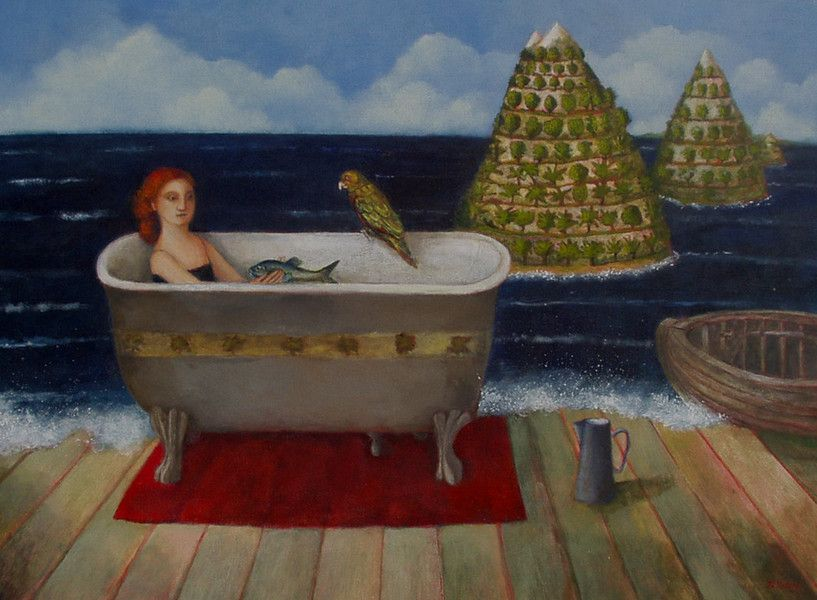 Paintings for sale by well known contemporary artist Nicola Slattery