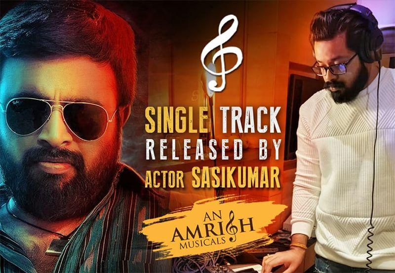 Actor Sasikumar Released En Kadhali Scene Podra Movie Sigle Track