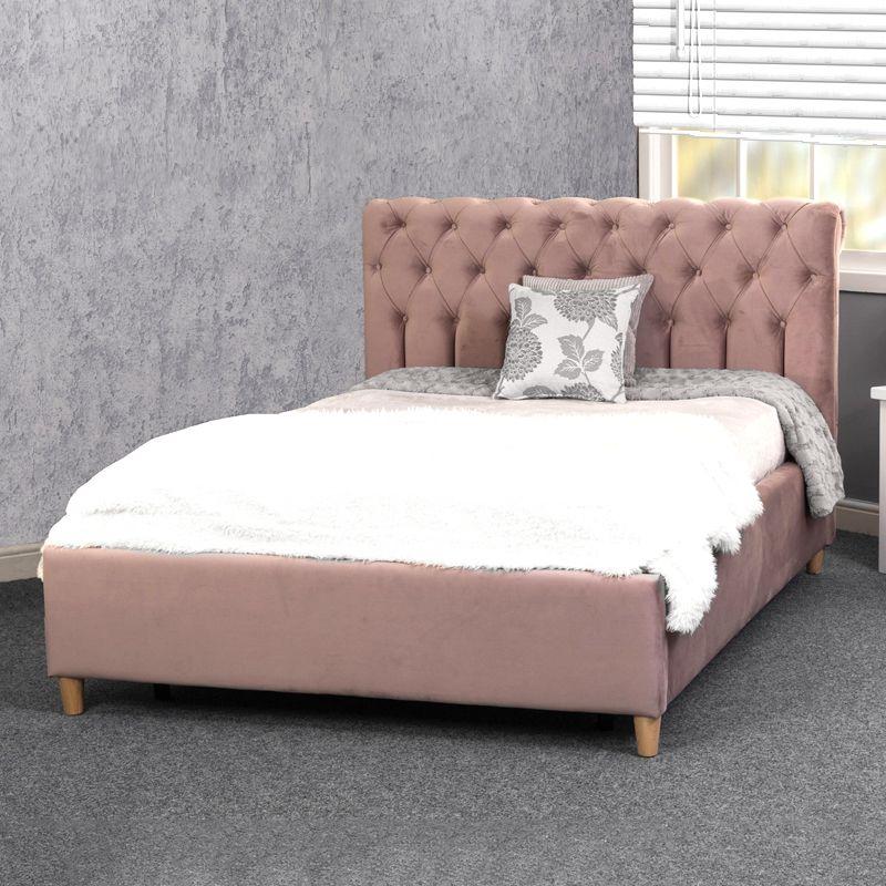 Isla Upholstered Bed Frame With Images Bed Frame Bedroom
