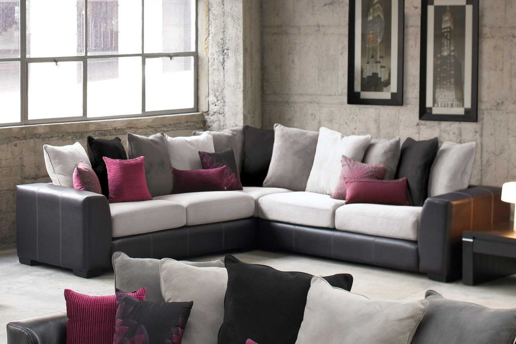 Arizona 5 seater corner lounge furniture by synargy from - Harvey norman living room furniture ...