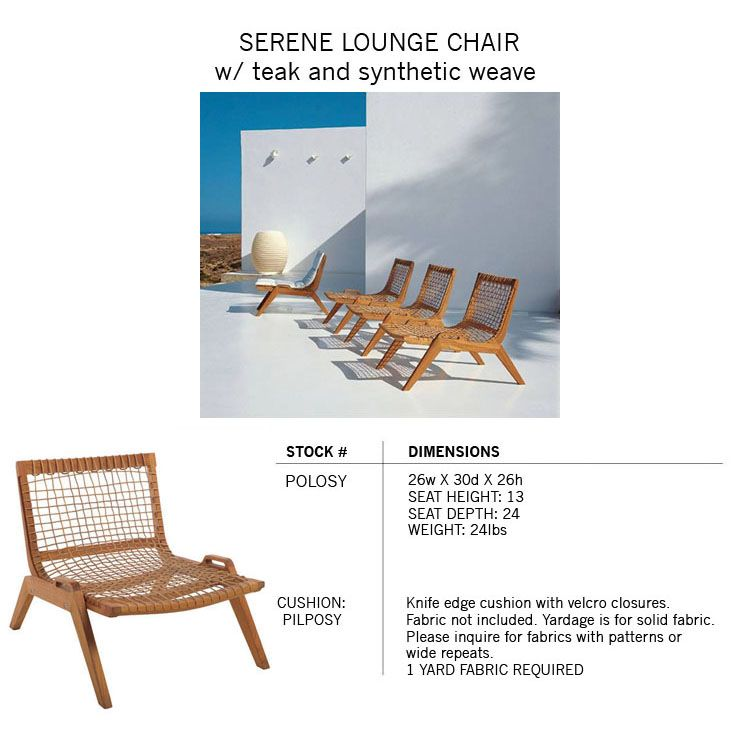 Henry Hall Designs Modern Outdoor Furniture For Gardenu0026patio, Including Sustainable  Teak And Woven Classic Designs