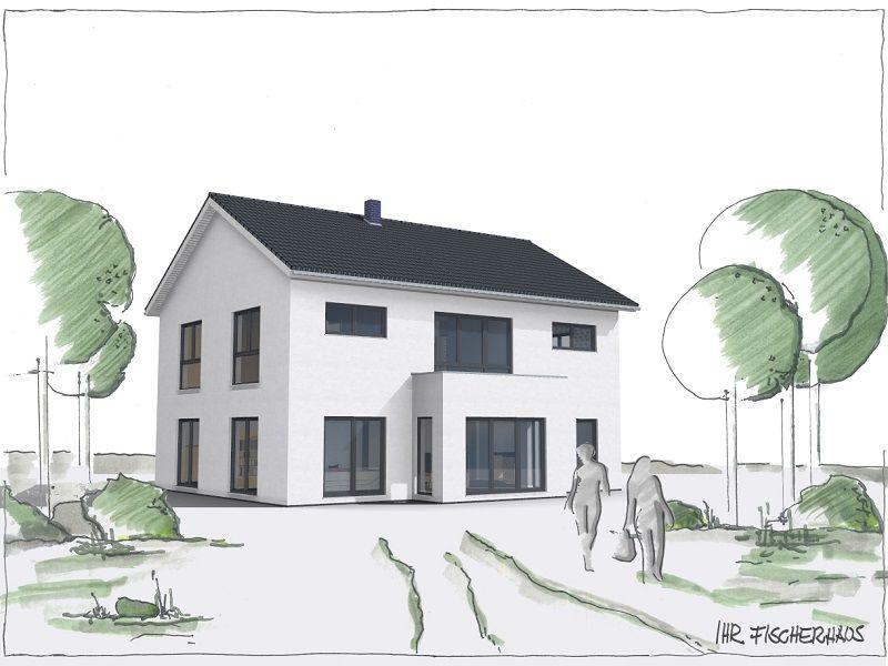 Hier bauen wir aktuell Fassadengestaltung, Wohnhaus und