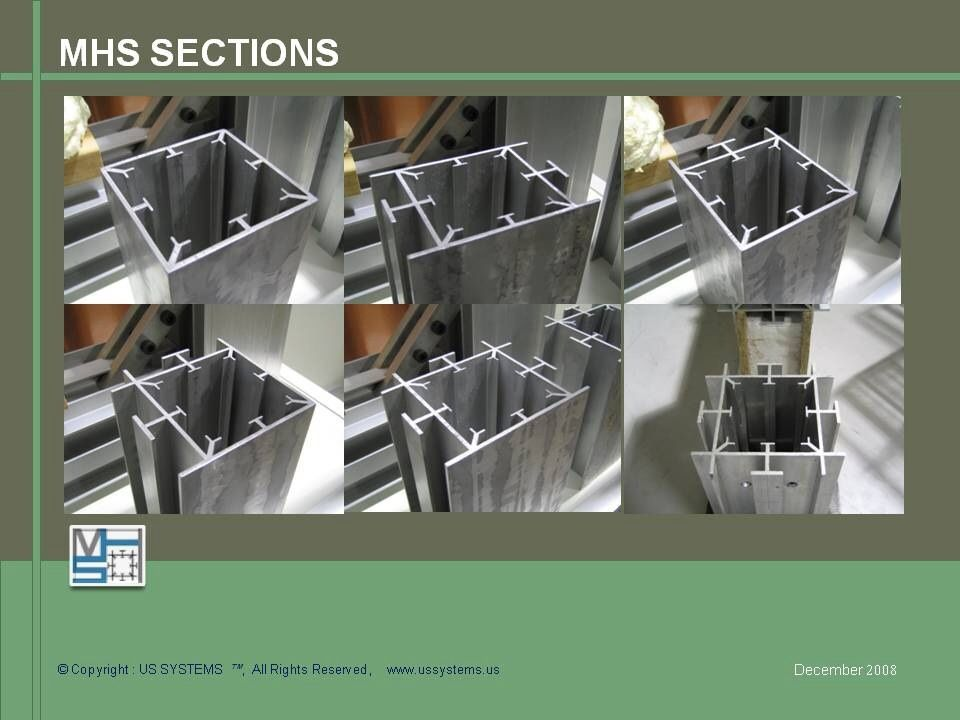 Mhs Extrusions Member Aluminum Extrusion Post And Beam Shelving Unit