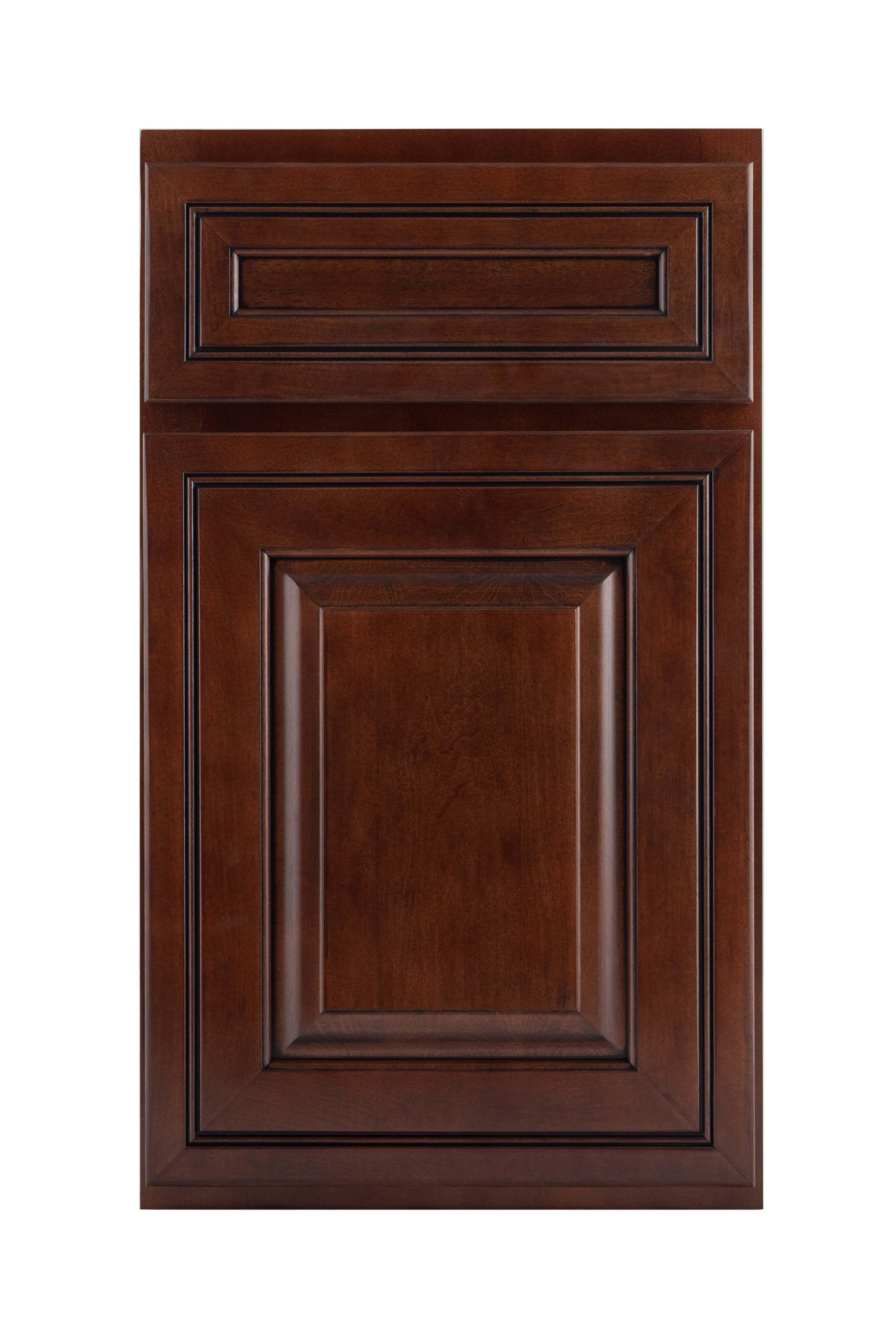 Crown Cabinets Sedona Maple Espresso Black Glaze Crown Cabinets