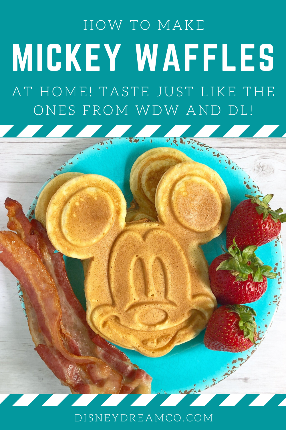 Mickey Waffles How to Make Them at Home in 2020 Disney