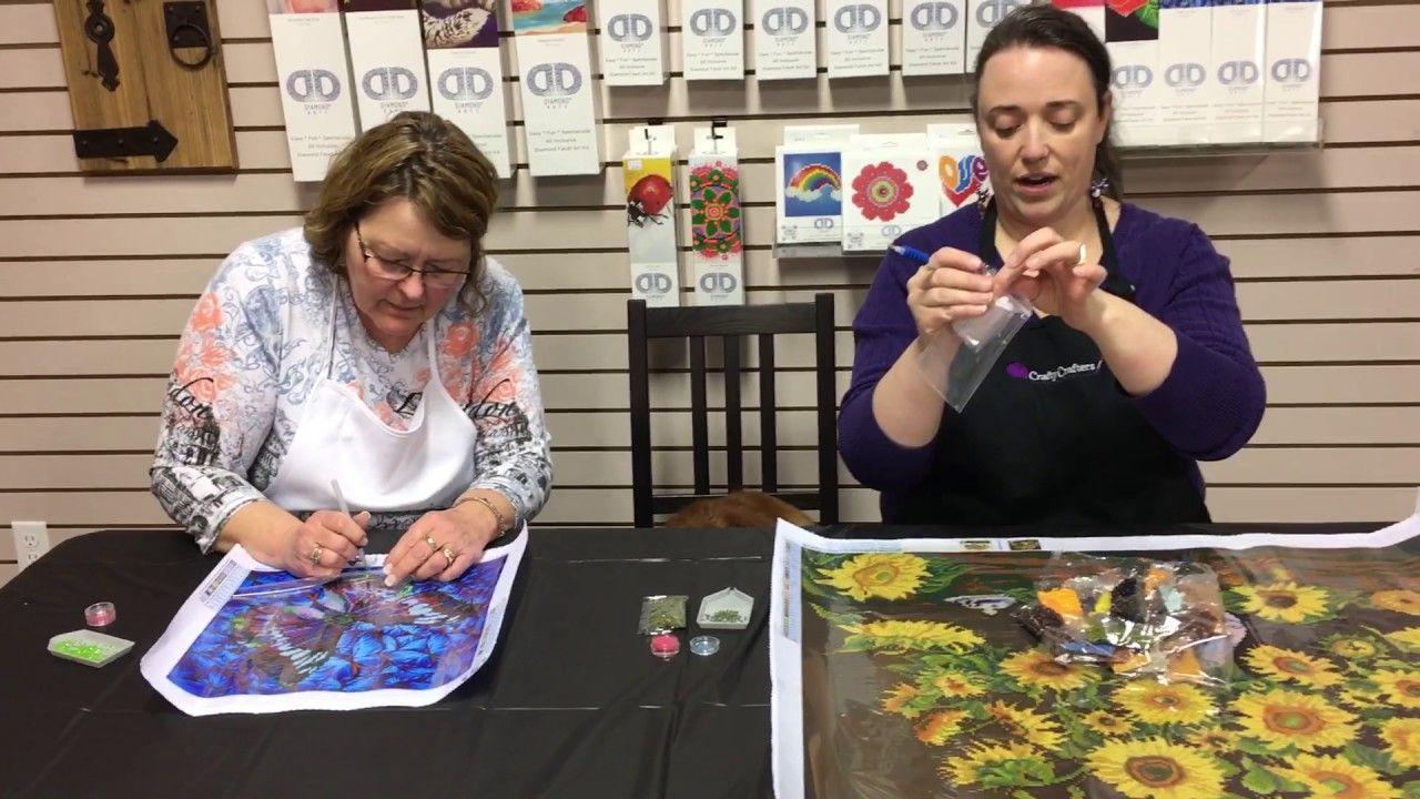 Diamond dotz introduction and how to diamond painting