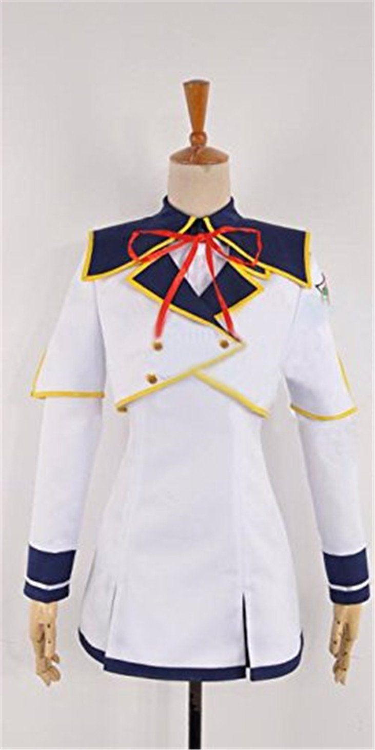 Relaxcos Seiken Tsukai No World Break Satsuki Ranj? Dress Uniform Cosplay Costume *** Details can be found by clicking on the image.